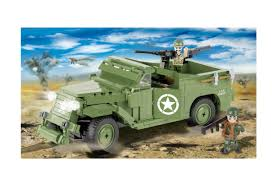 <b>Конструктор COBI</b> Разведывательно-дозорная машина M3 Scout ...