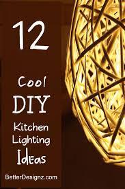 diy kitchen lighting ideas. Beautiful Diy Kitchen Lighting 12 Cool Ideas T