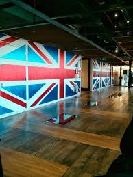 google office in uk. this was the first impression we got of office: bedazzled walls decked out with google office in uk