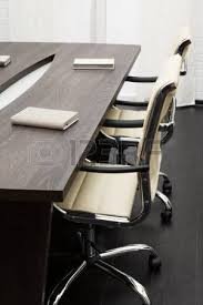 modern office conference table. conference table in a modern office photo d