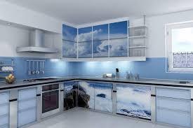 Blue Tiles For Kitchen Blue Kitchen Design Ideas With Blue Tile Wall Backsplash And