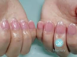 Mercuryマーキュリー A Twitter ほんのりピンクにラメでキラリ