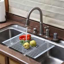 portable kitchen storage new new stainless steel sink rack roll silicon handy and portable of portable