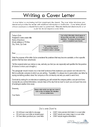 Cover Letter Sample Don T Know Name Viactu Com