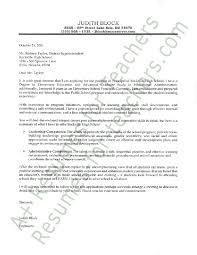 School Administrator Cover Letter Principal Cover Letter Cover Letter Sample Lettering