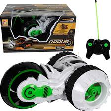 Машинка <b>1 Toy</b> трюковая трёхколёсная машина-перевёртыш на ...