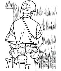 Veterans Day Coloring Sheets Salute For The Veterans Who Sacrificed