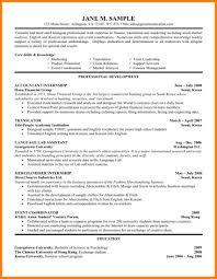 12 Cv For Internship Precis Format