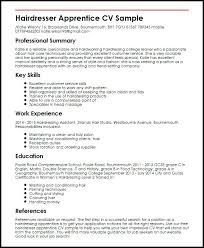 Sample Cosmetology Resume Top 8 Hair Salon Assistant Resume Best