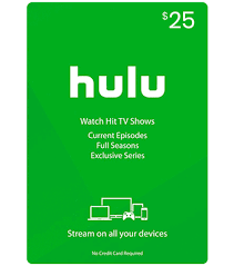 Buy US Hulu Gift Cards - Worldwide Email Delivery ...