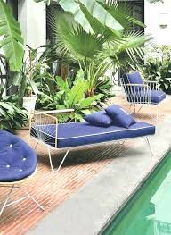 pool daybed preciously me blog coup lounge chair vintage style daybed modern pool furniture mid century pool daybed