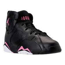 basketball shoes for girls nike black and white. nike girls\u0027 preschool jordan retro 7 basketball shoes black/vivid pink kids for girls nike black and white e