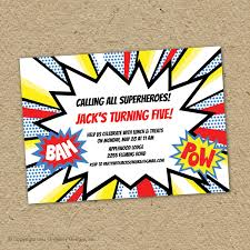 superheroes birthday party invitations superhero party invitations resumess franklinfire co