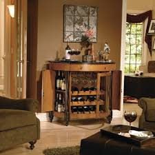 Living Room Bar Cabinet Living Room Classic Bar Cabinet Designs For Home With Brown