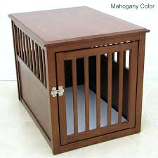 indoor dog crate furniture crown wood dog crate table wood dog crate table in mahogany indoor indoor dog crate