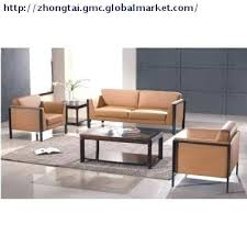 office sofa sets. Plain Sets Office Furniture Couch Modern Leather Sofa Set  Chair   Intended Office Sofa Sets