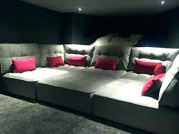 diy home theater seating home theater seating ideas theater seating sofa more ideas below home theater