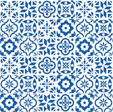 Pattern In Spanish Custom Spanish Tile Pattern Smaller Size Fabric Elizajanecurtis