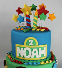 Sesame Street Second Birthday Cake Lil Miss Cakes