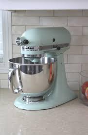 brilliant mixer pistachio kitchenaid mixer kitchen designs with ice blue 6