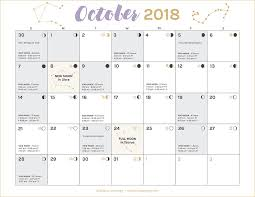 Moon Chart October 2018 Monthly Forecast For October 2018 Soulshine Astrology