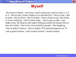 wheresjenny com essay writing for children essay writing  2014 wheresjenny com essay writing for children 1 myself my is rahul