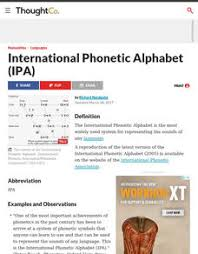 In the early stage of learning, a child gradually gets familiarized with different objects that surround him or there are many other ways to teach phonetic alphabet for kids. Ipa Lesson Plans Worksheets Reviewed By Teachers