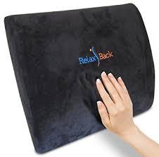 office chair lumbar pillow. #1 best memory foam lumbar cushion for lower back pain | premium pillow office chair k