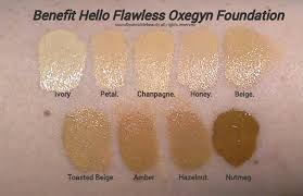 Benefit Foundation Colour Chart Benefit Oxygen Wow Foundation In 2019 Hello Flawless