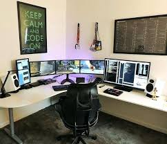 office computer setup. Best Desk Setup Gaming Productive Productivity Programming Office  Game From Linnmon Computer