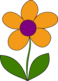 spring flowers border clipart. Interesting Border Clip Art Orange At Clker Com Vector Banner Free Spring Flower  Inside Flowers Border Clipart