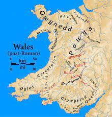 พรมแดนอังกฤษ - เวลส์ ภูมิศาสตร์และประวัติศาสตร์