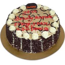 Birthday Cakes Online Delivery Cake With Chocolate Flavour Round