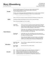 resume templ free goldfish bowl combination cv resume template in