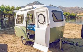 Travel trailers interior Luxury Travel Happier Camper Treehugger Lightweight Retromodern Camper Boasts Modular Adaptive Interior