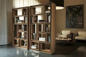 modern dark wood bookcase contemporary bookcases with glass doors long low white bookcase