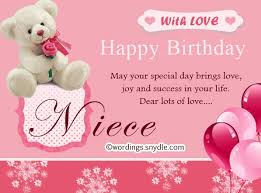 Awesome Birthday Wishes For Niece 2017 Happy Birthday Lines