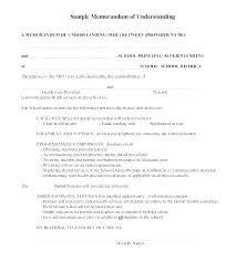 Memo Template For Google Docs Memorandum Of Understanding Templates Google Docs Free Navy