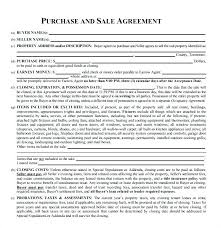 House Contract Form House Contract Template
