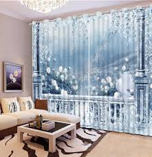 Modern Style Curtains Living Room Online Get Cheap Grommet Curtains Aliexpresscom Alibaba Group