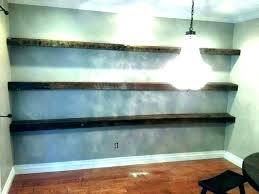 floating shelf with lights underneath light shelves recessed floating shelf with lights