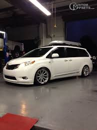 Wheel Offset 2011 Toyota Sienna Tucked Dropped 3 Custom Rims About Us