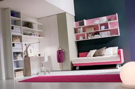 bedroom ideas for teenage girls pink. Awesome Ideas In Interior Decoration For Teenage Bedroom : Top Notch Pink Sofa Bed With White Girls