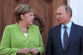 Angela Merkel Exasperated by Putin as Navalny Lies in a Coma - Bloomberg