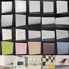 pe foam 3d diy wall stickers room home