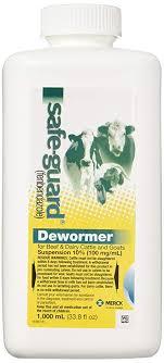 Amazon Com Merck Safe Guard Dewormer Suspension For Beef