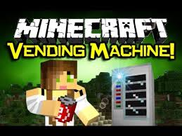 Vending Machine Mod Stunning Minecraft VENDING MACHINE MOD Spotlight Awesome Refreshing