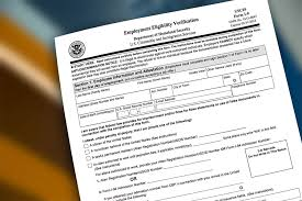 Verification Of Employment Form New I48 Form Definition Requirements How To Complete