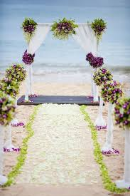 Purple and green wedding colors Pink Purple And Green Beach Wedding Arch Aisle Ideas Dream Wedding 50 Beach Wedding Aisle Decoration Ideas Deer Pearl Flowers