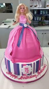 Barbie Birthday Cake Girl 4th Birthday Pink Dress Up Barbie